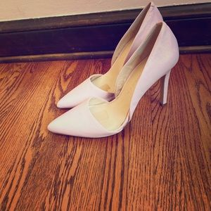 Banana republic d'orsay baby pink pumps